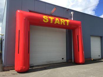 Start / Finishbogen Luchtdicht
