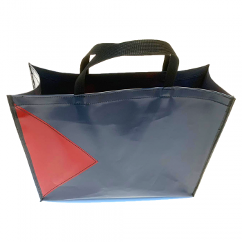 Shopper Antraciet/Rood