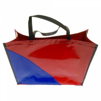 Shopper Rood/Blauw